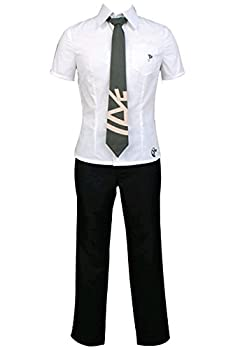 UU-Style Super Danganronpa Hajime Hinata Shirt Pants Outfit Uniform Cosplay Costume