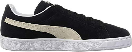 Puma Herren Suede Classic+ Sneaker, Schwarz (black-white), 43 EU