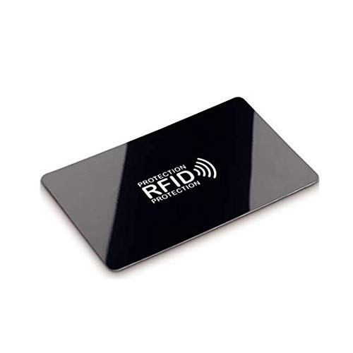 NFC/RFID Card - Credit Card Protector, Contactless Cards Protection for Credit Cards, ID Cards, Passport etc. - One Card for Entire Wallet-No Batteries Required