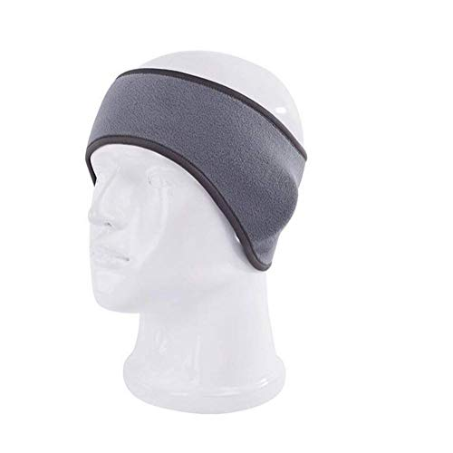 Polar Fleece Ear Warmers Headband/Performance Stretch Ear Muffs for Men & Women Perfect for Winter Running Yoga Skiing Work out Riding bike in Cold and Freezing Days