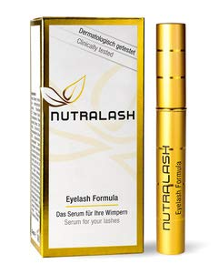 NUTRALASH Eyelash - Aktives Wimpernserum made in Germany, 1er Pack (1 x 1ml)