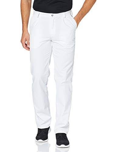 BP 1359-558-21-46n Hose für Männer, mit Bundfalten und Taschen, 245,00 g/m² Stoffmischung, weiß ,46n