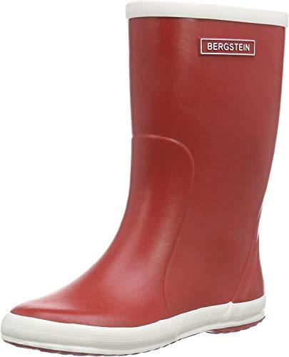 Bergstein Unisex-Kinder BN RainbootR Gummistiefel, Rot (Red), 20