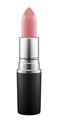 MAC Satin Lipstick BRAVE (Pink-beige with white pearl)