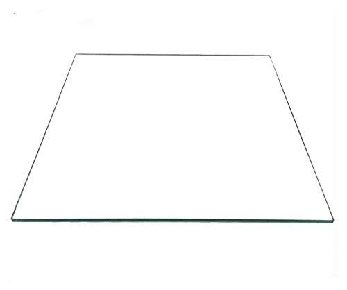 Liupin Store Componenti per stampanti 3D adatti per reprap MK2 Letto riscaldato Borosilicato Lastra di vetro Formato 213 * 200 * 3mm Accessori per la parte temprati 3mm temperati Facile da installare