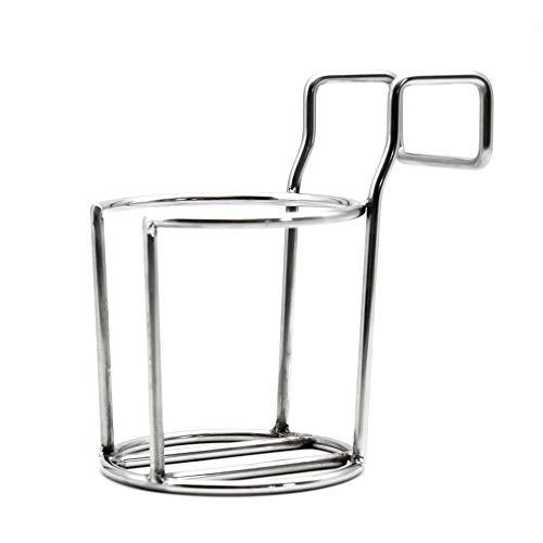 intergrill Strandkorb Zubehör Getränke-Flaschen-Tassenhalter Edelstahl Durchmesser 8cm