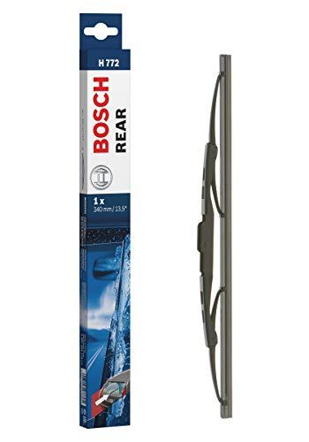 Bosch Rear Escobilla limpiaparabrisas H772, Longitud: 340 mm – 1 escobilla limpiaparabrisas para la ventana trasera