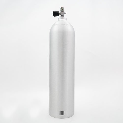 Cyl-Tec 80CF Scuba Diving Tank - (3000 psi) Aluminum Diving Cylinder with Combo Valve