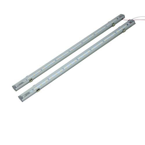 LIGHTEU, 2x lineares Licht (41 cm), 12V 5W, Berührungsschalter, LED, Kabine, unter Schrank, Wandstreifenlicht, für Boot, Yacht und Wohnwagen, Campervan, Wohnmobil, RV,