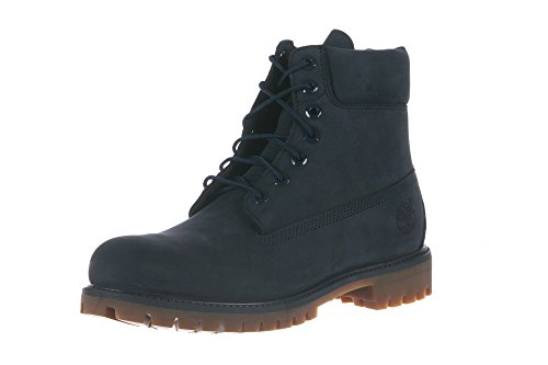 "Timberland 6"" Premium Waterproof Boot Navy Monochrome 9.5"
