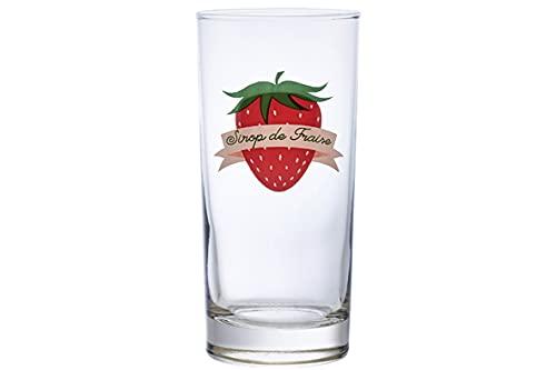Durobor 81.706 Scotch Set di 6 Bicchieri con Fragole 29 ml