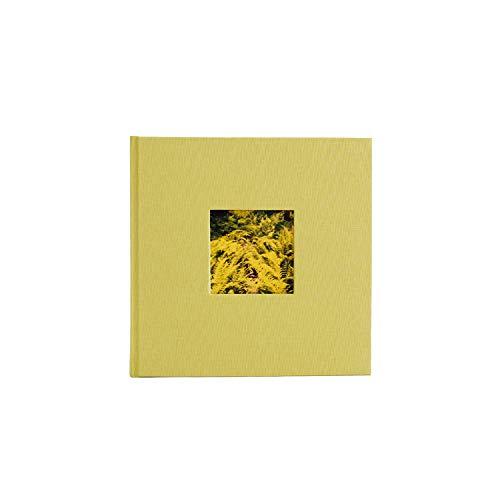 Kolo Hudson 2up Photo Album, Holds 200 4x6 Photos, Chartreuse