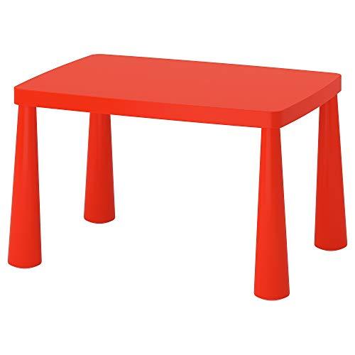 IKEA Mammut - Mesa infantil para interior/exterior, color rojo