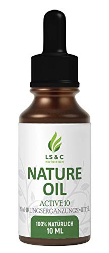 LS&C NATURE OIL   10% Öl, Vegan Natürlich   Tropfen   10ml