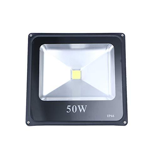 Uonlytech - Foco LED para exteriores (50 W, impermeable, luz blanca)