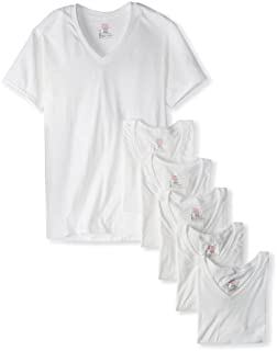 Hanes Ultimate Men's 6-Pack FreshIQ V-Neck Tee (B00ACIFB90) | Amazon price tracker / tracking, Amazon price history charts, Amazon price watches, Amazon price drop alerts