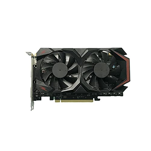 GTX 550 Ti DDR5 2GB 128 Bit PCI-E Gaming Graphics Card with Cooling Double Fan Low Consumption Desktop Computer Graphics Card -Apply to HDMI/VGA/DVI/PCI-E Interface Ultra HD Gaming Video Card