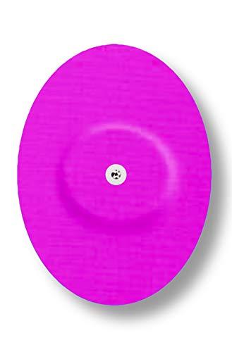 FixTape ademende sensortape voor Freestyle Libre 1 & 2 I zelfklevende patch voor glucose-sensor met hoog draagcomfort I huidvriendelijk en watervast in hippe designs I 7 stuks (Roze)