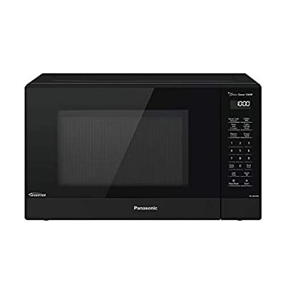 Panasonic Compact Microwave Oven with 1200 Watts of Cooking Power, Sensor Cooking, Popcorn Button, Quick 30sec and Turbo Defrost