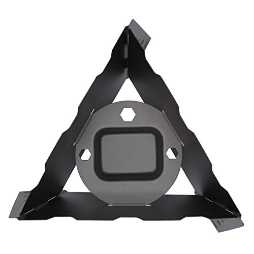 Kuvik Titanium Solid Fuel Stove - Ultralight and Compact Stove for Backpacking, Camping, and Survival