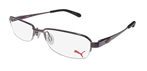 Puma 15364 Giga Mens/Womens Spring Hinges TIGHT-FIT Designed for Jogging/Cycling/Sports Activities Eyeglasses/Spectacles