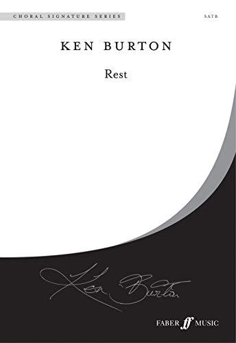 Rest: Satb, A Cappella, Choral Octavo (Choral Signatures)
