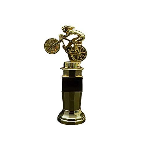 NQO Trofeo de Campeones Trofeo de Competición, Trofeo para bicicleta de montaña deportiva trofeo de la UEFA Champions League Artesanía Altura 20 cm