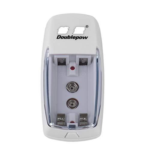 Monllack Universal 2 Slots AA AAA 9 V Ladegerät Lade Schutz Tragbare Größe Ladegerät Für Wiederaufladbare Batterien