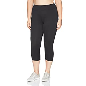 Fashion Shopping JUST MY SIZE Women's Plus Size Active Stretch Capri