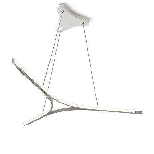Hanglamp, hanglamp, creatief, modern, eenvoudige hanglamp, afstandsbediening, dimbaar, LED, hanglamp, verstelbaar, persoonlijkheid eettafel