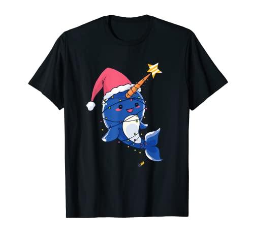 Weihnachten, süßer Narwal, Xmas...