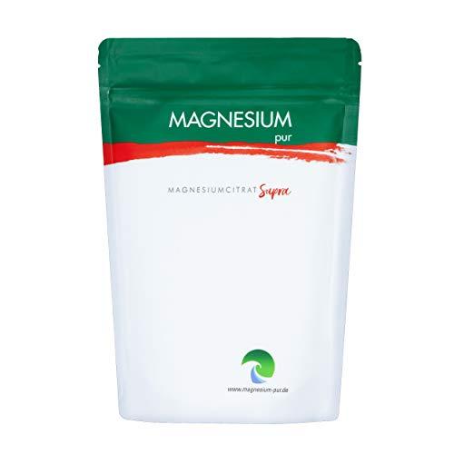 Magnesium Pur - Supra Granulat Trimagnesiumdicitrat 500g