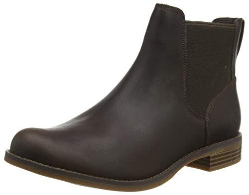Timberland Damen Magby Low Chelsea Boots, Braun (Dark Brown Full Grain), 38 EU