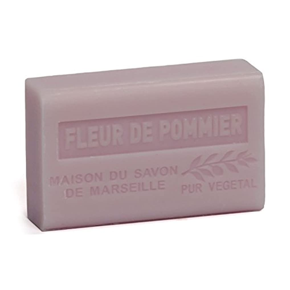 結婚ポンプアルプスSavon de Marseille Soap Apple Blossom Shea Butter 125g
