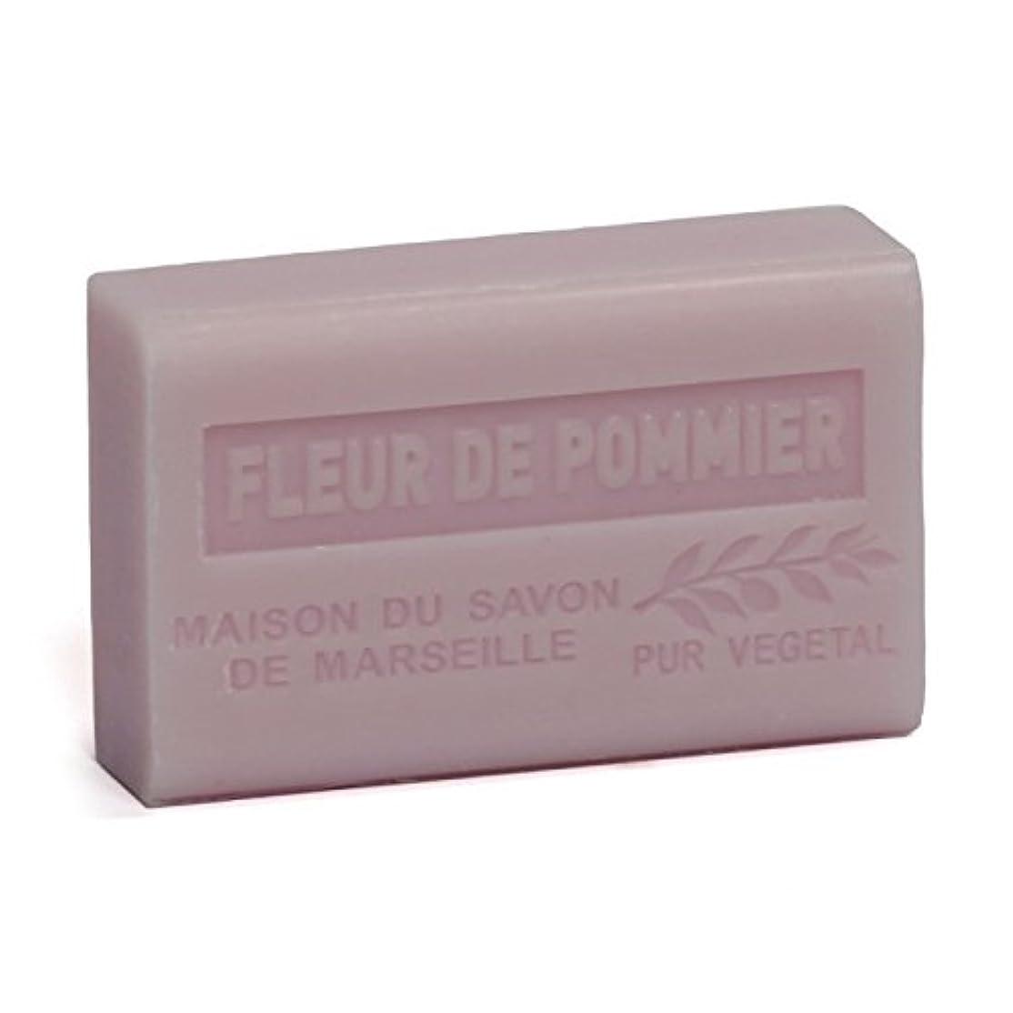 ポンド場所上向きSavon de Marseille Soap Apple Blossom Shea Butter 125g