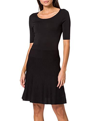 HUGO Damen Shanequa 10233011 01 Kleid, Black1, S