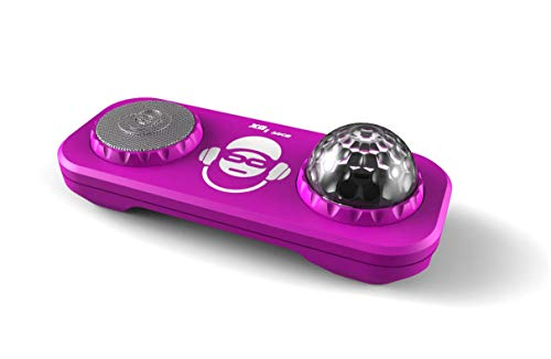 Bigben Sound XD2PK Karaoke-Mischpult mit Mikrofon und Lichtern, Rosa