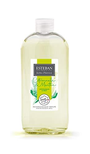 ESTEBAN Paris – Universo Natura – Recarga Bouquet perfumado, 300 ml, citronela y menta