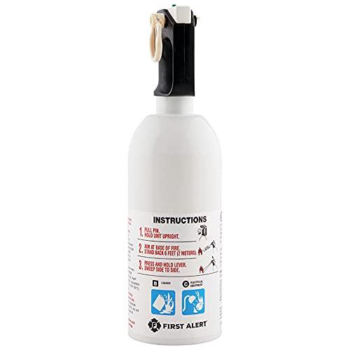 FIRST ALERT Fire Extinguisher, KitchenFireExtinguisher, White, KITCHEN5