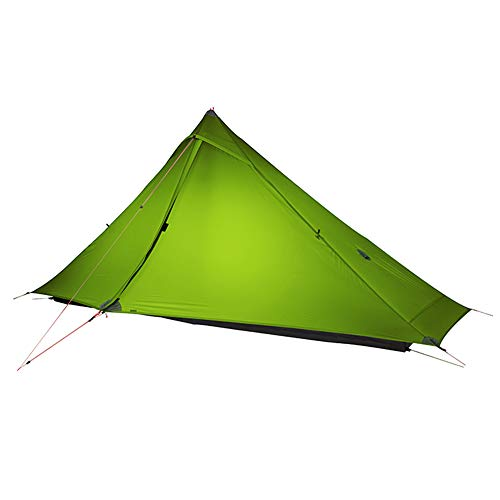 SANDEGOO 2 Person Ultralight Backpacking Hiking Tent,3lb Lightweight Waterproof Pyramid Camping Tent for 3 Season(Without Trekking Pole)