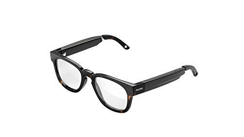 FAUNA Bluetooth Blaulichtfilter Brille - Unisex Designer Brille mit Audio-Funktion - Memor Havana