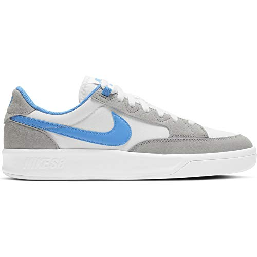 Nike SB Adversary Premium - Zapatos de monopatín para hombre, color Gris, talla 44 EU