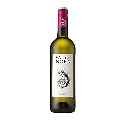 Vino blanco Val de Nora de 75 cl - D.O. Rias Baixas - Bodegas Viña Nora (Pack de 1 botella)
