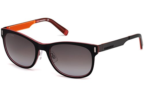 DSquared2 Alf DQ0221 C55 20B (grey/other / gradient smoke) Sonnenbrillen