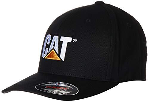 Caterpillar Herren Cap Trademark Stretch Fit - Schwarz - Large/X-Large