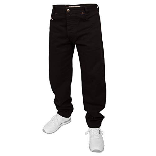 Picaldi Jeans Zicco 472 Black   Karottenschnitt Jeans, Größe: 38W / 32L