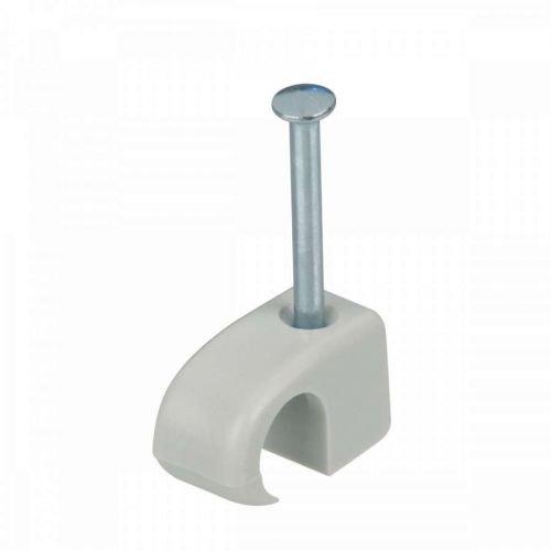 ViD® Nagelschellen 7-11 mm grau 200 Stück im Polybeutel