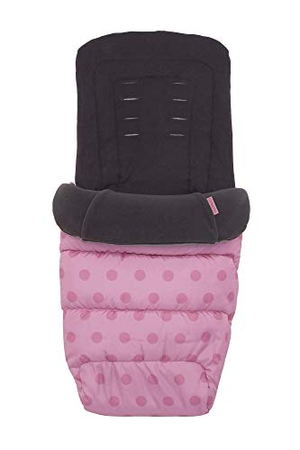 Cosatto Universal Footmuff – Cosy Toes, All Season Quilted Pushchair Liner, Washable (Bunny Buddy)