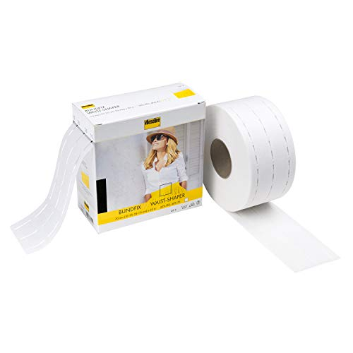 Vlieseline de Freudenberg 53429844 Perfecobande Blanco 50 m, 10-25-10 mm x 50 m