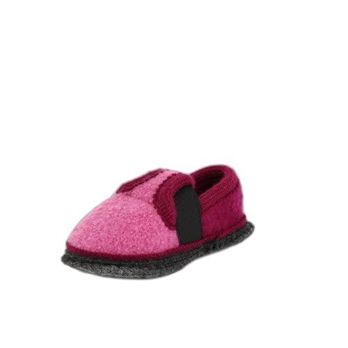 Beck Bobby 756 Pantofole Unisex, da Bambino, Colore Rosa (Pink), Taglia 32 EU